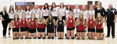 2019 Conestoga volleyball team photo