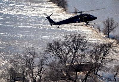Flooding, rescue