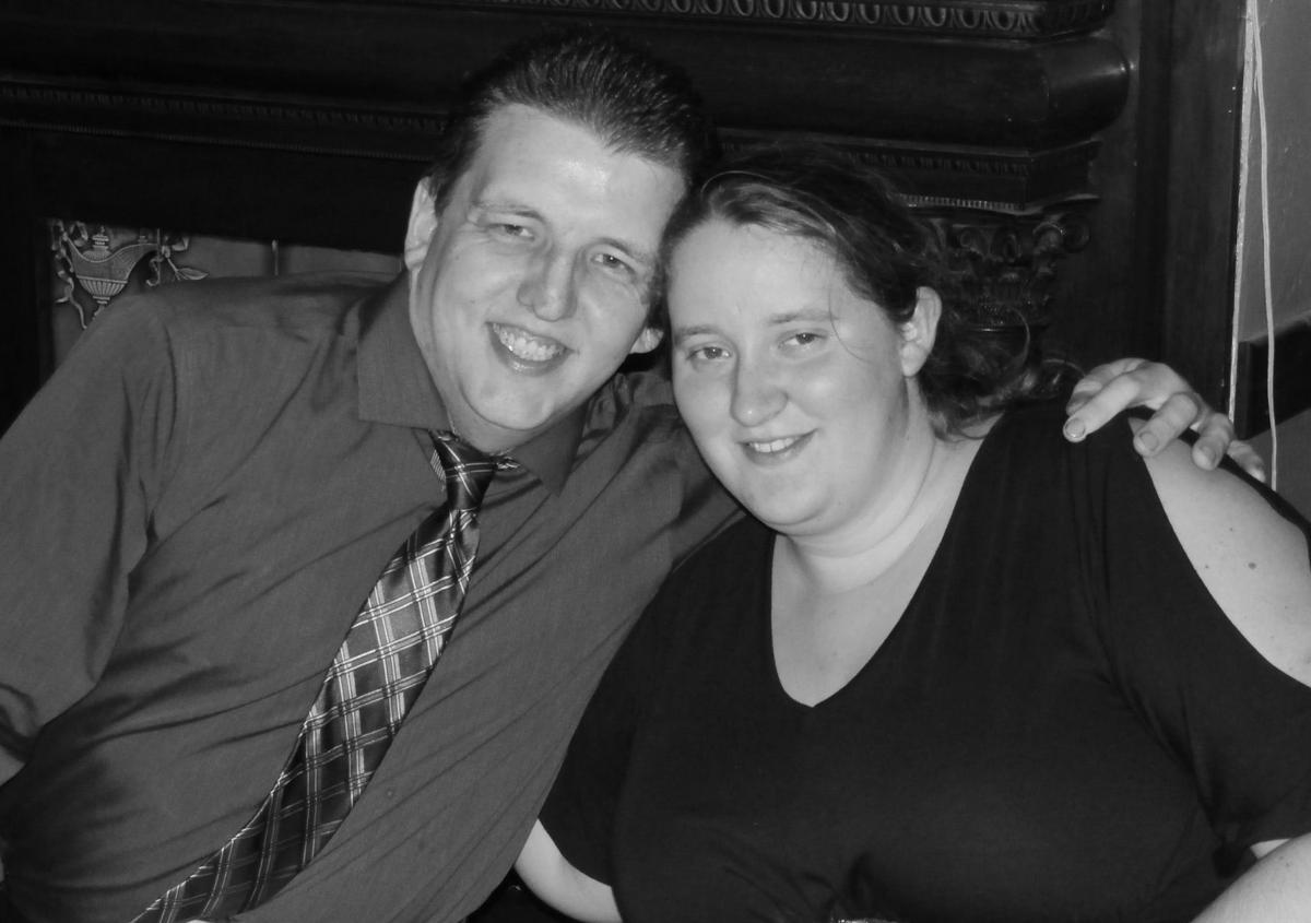 Curtis Hauber and Christina Rabenold