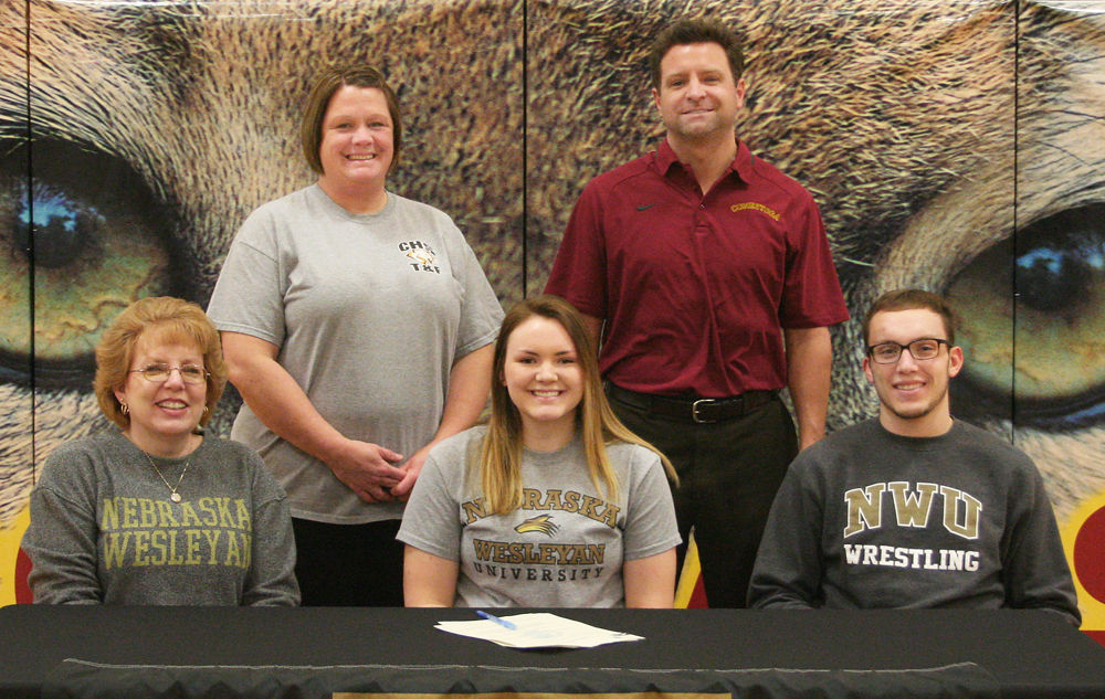 Becca Simpson signs with NWU track and field