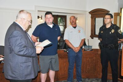 Police, Fire, EMS honored for flood work | News