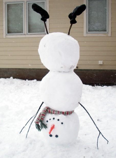 Show us your snowmen | Homepage | fremonttribune.com