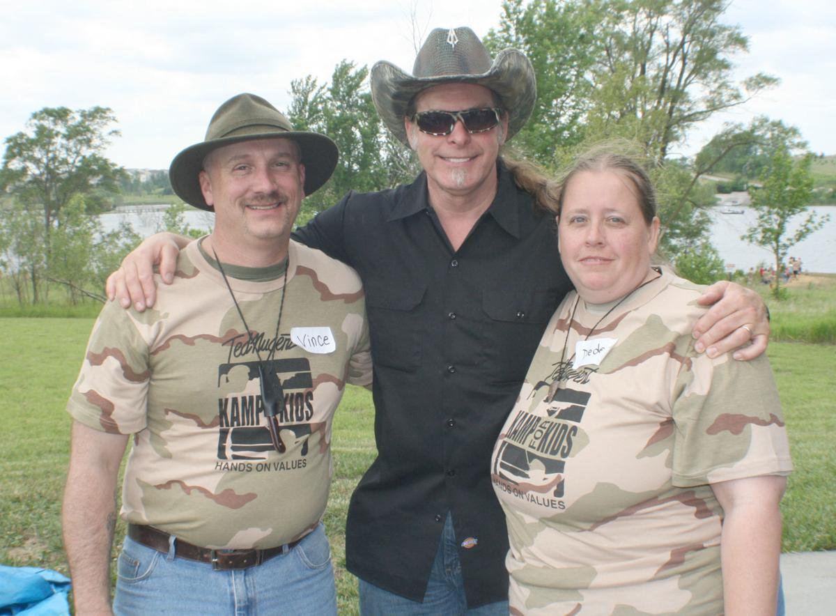 Vince and Dede Smith and Ted Nugent
