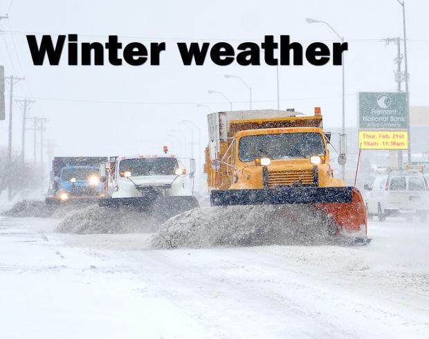 Winter weather logo
