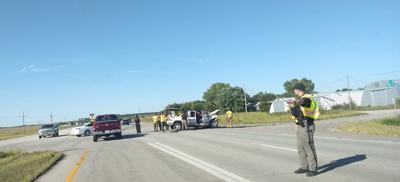 Accident on U.S. Highway 77
