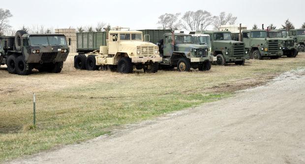Forest Service trucks