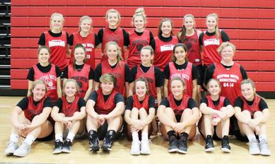 2018-19 Weeping Water girls basketball team photo