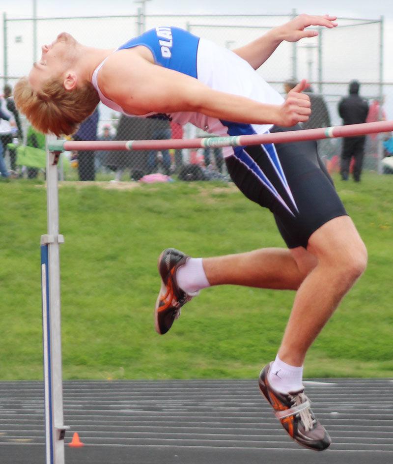 Andrew Rathman in high jump