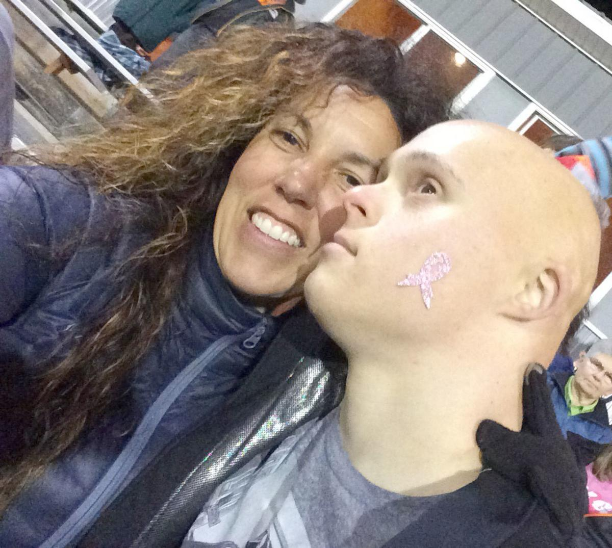 Breast cancer Brandee and nephew