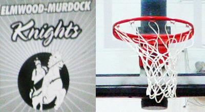 Elmwood-Murdock basketball