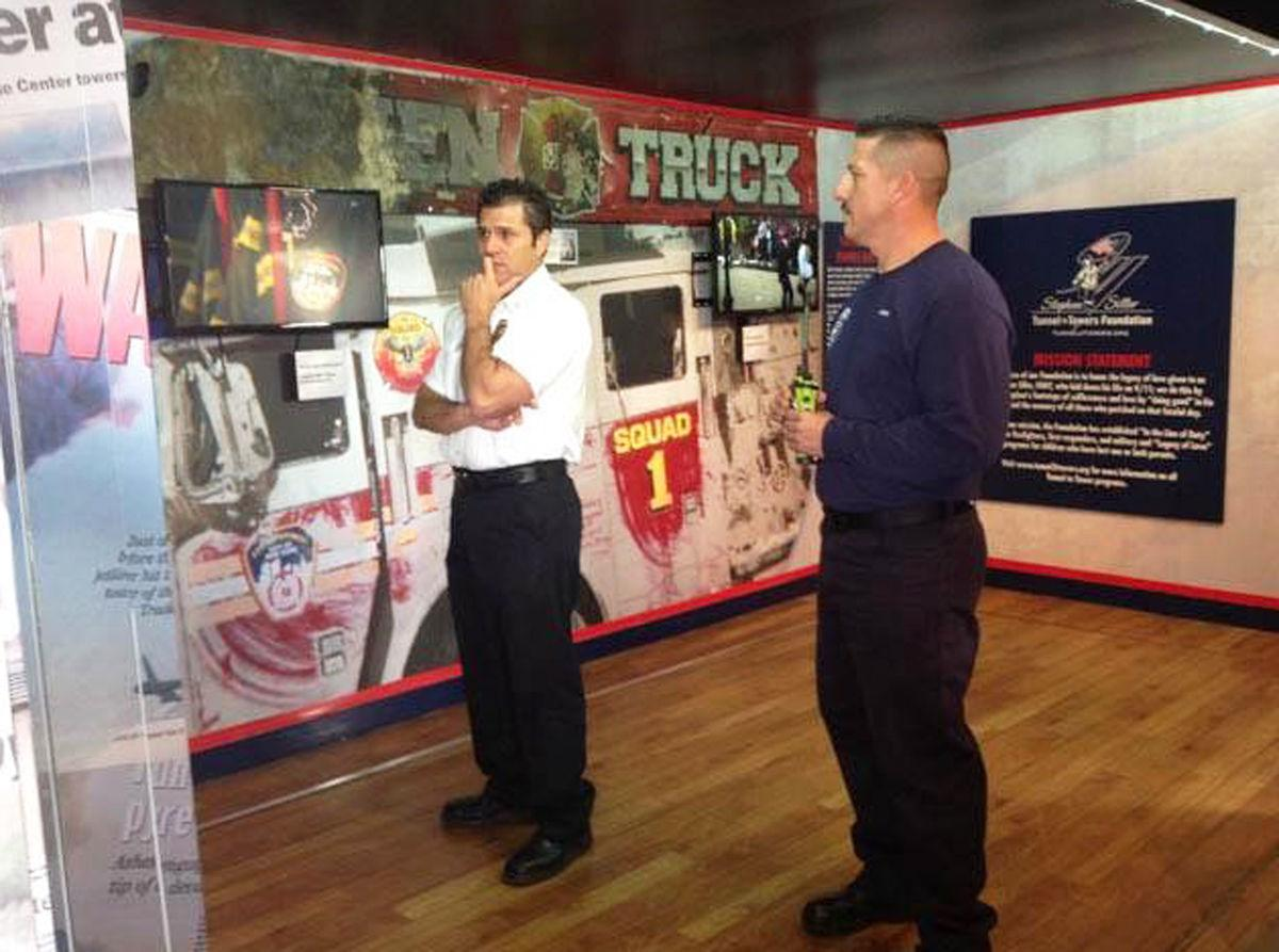 9/11 traveling exhibit