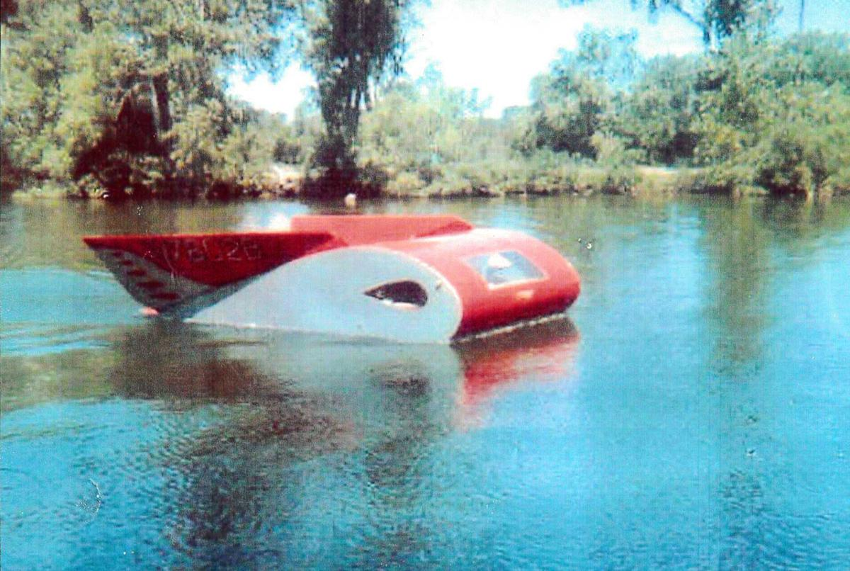 Martin Air Car in the water