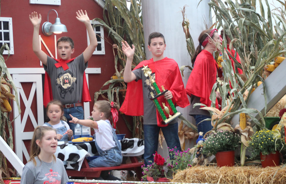 St Johns float in parade