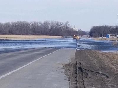 Highway 15 flooding
