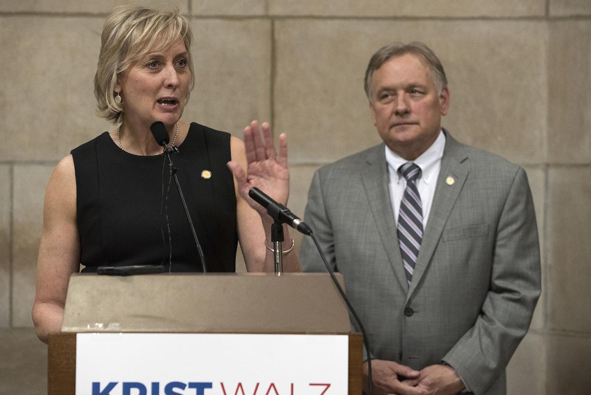 Bob Krist and Lynne Walz