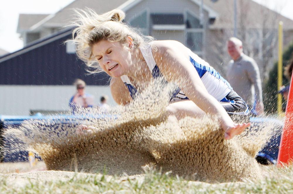 Haley Miller in triple jump