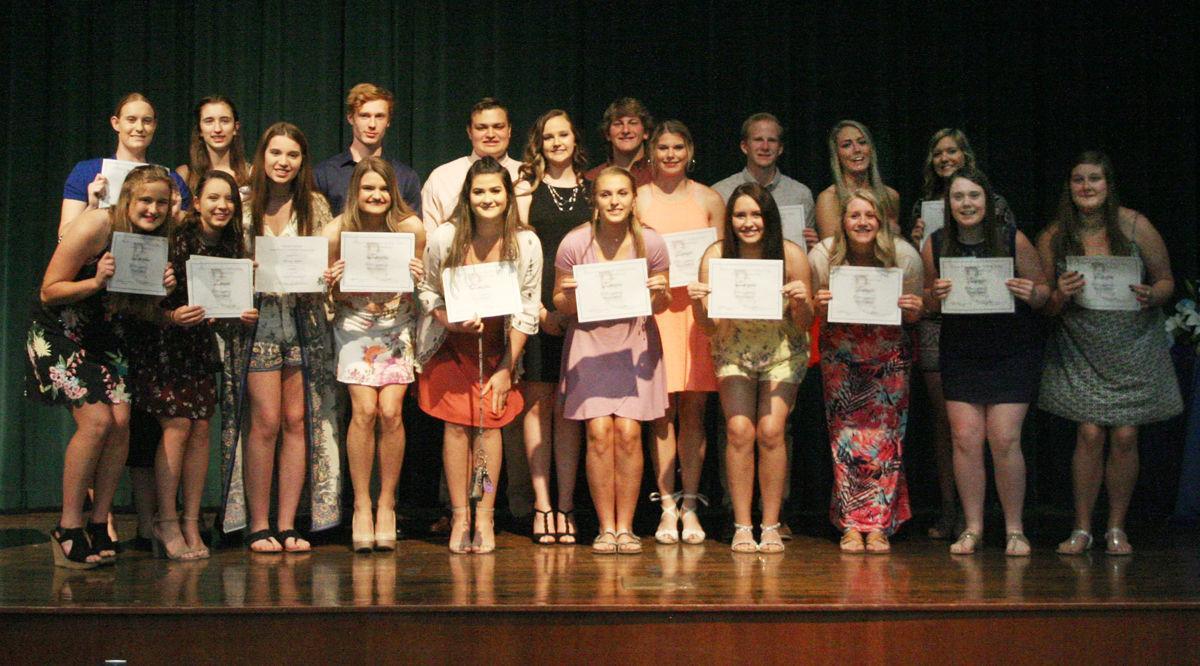 Wiley Scholarship recipients