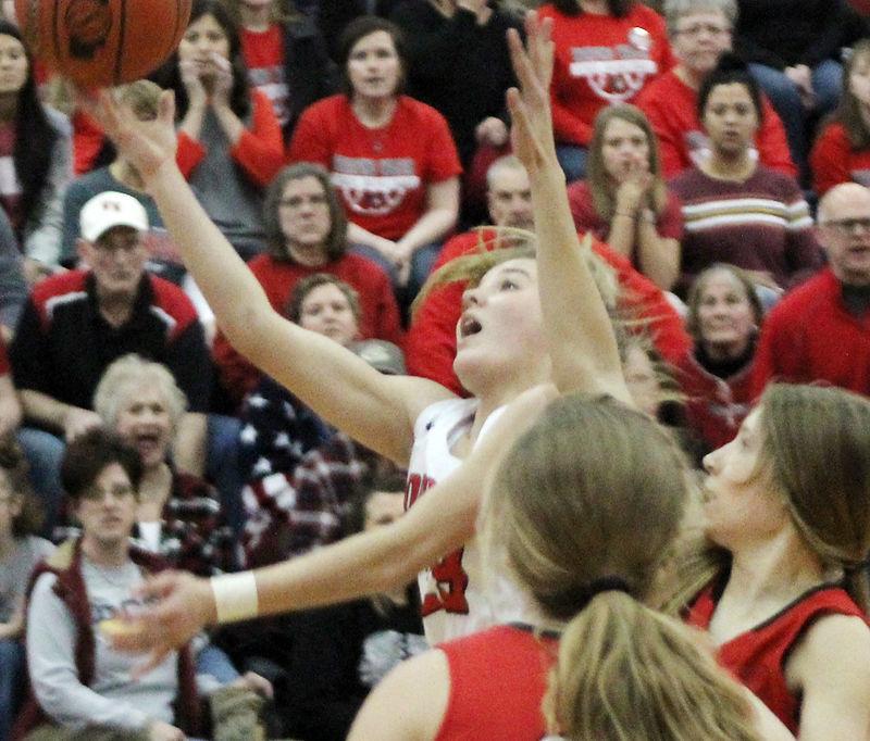 Grace Cave against Pleasanton at state