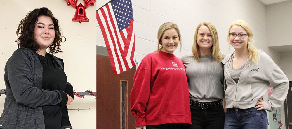 Four Cass County national anthem singers