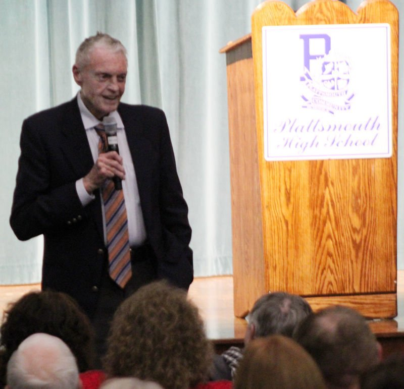 Tom Osborne speech photo 1