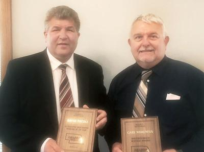 David Friedli and Gary Wockenfuss NSASSP Region II awards