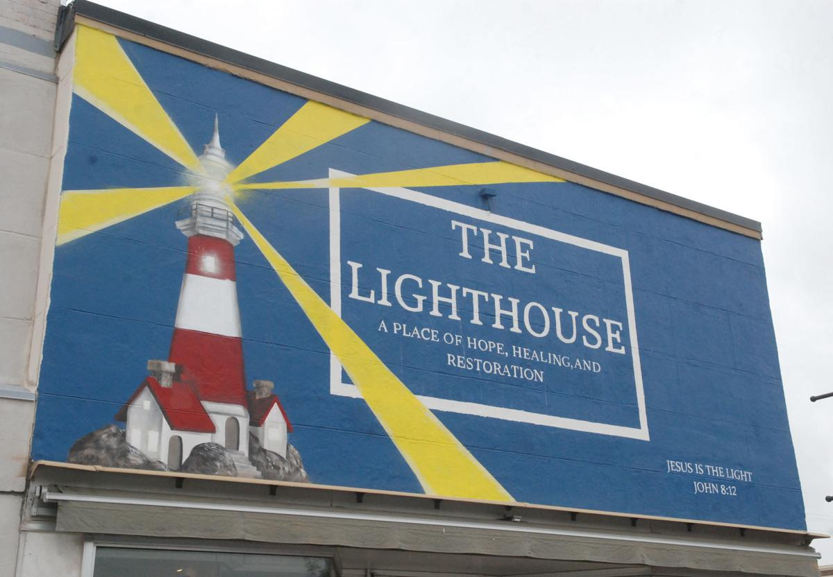 Lighthouse ministry sign