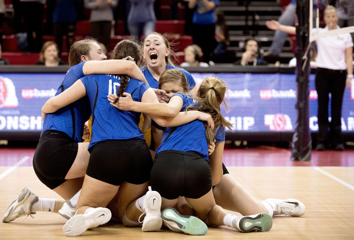 wahoo volleyball state