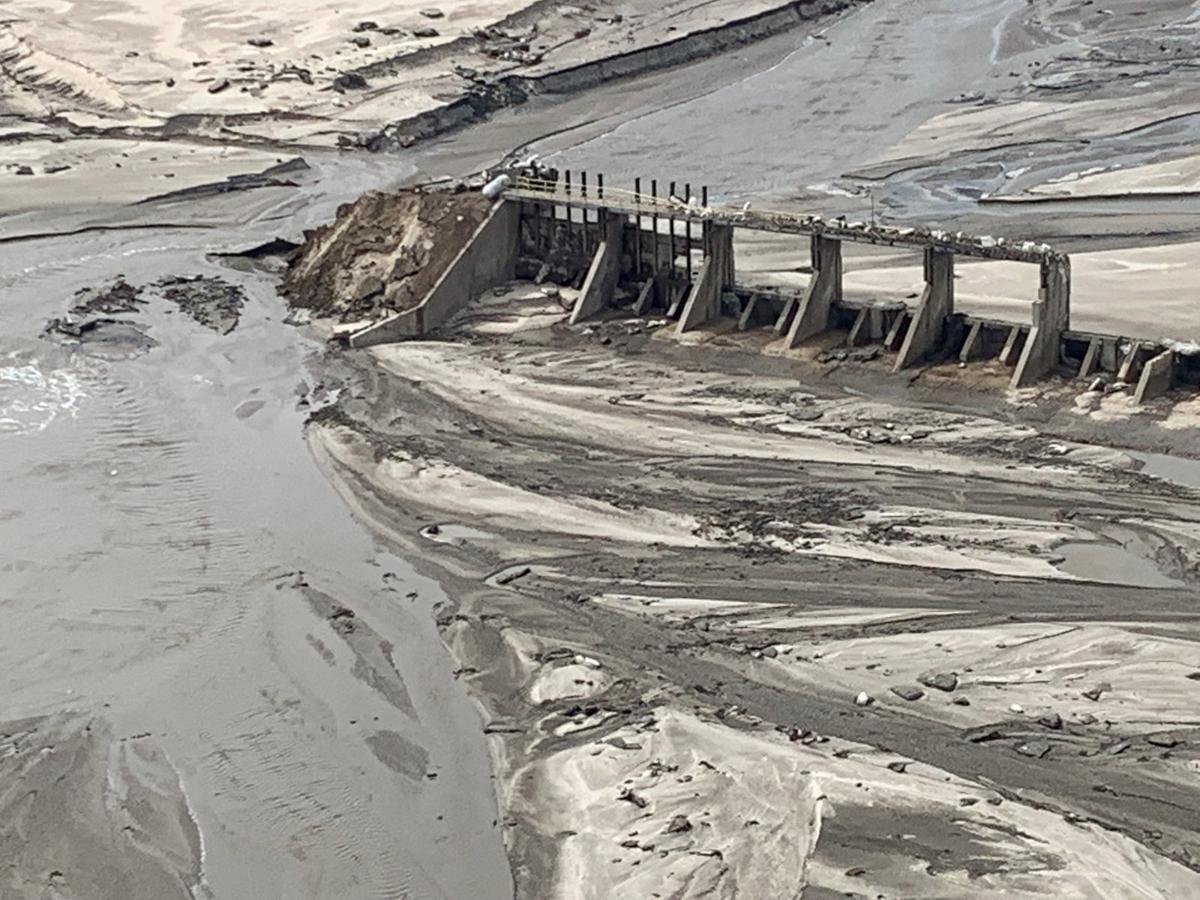 Spencer Dam flooding