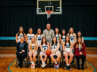 Cedar Bluffs girls basketball 2019-20