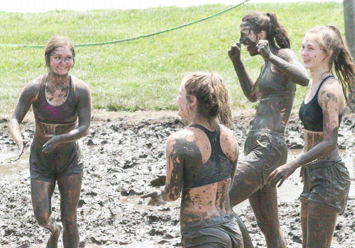 Murray mud volleyball tournament file photo