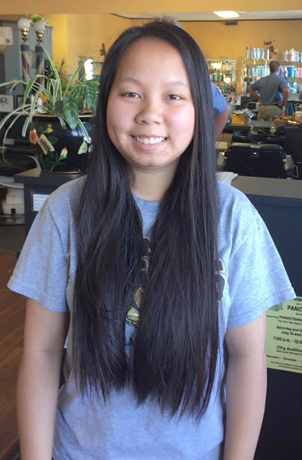 Young Woman Donates Again To Locks Of Love Local News