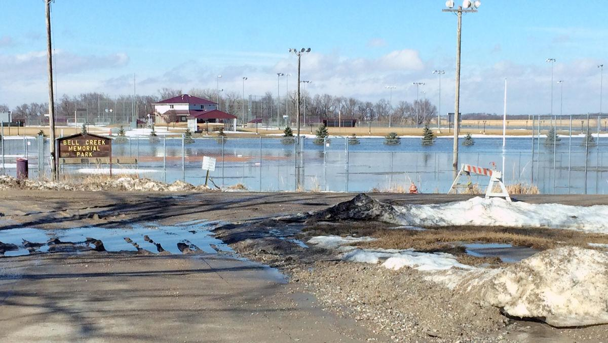 Bell Creek flooding