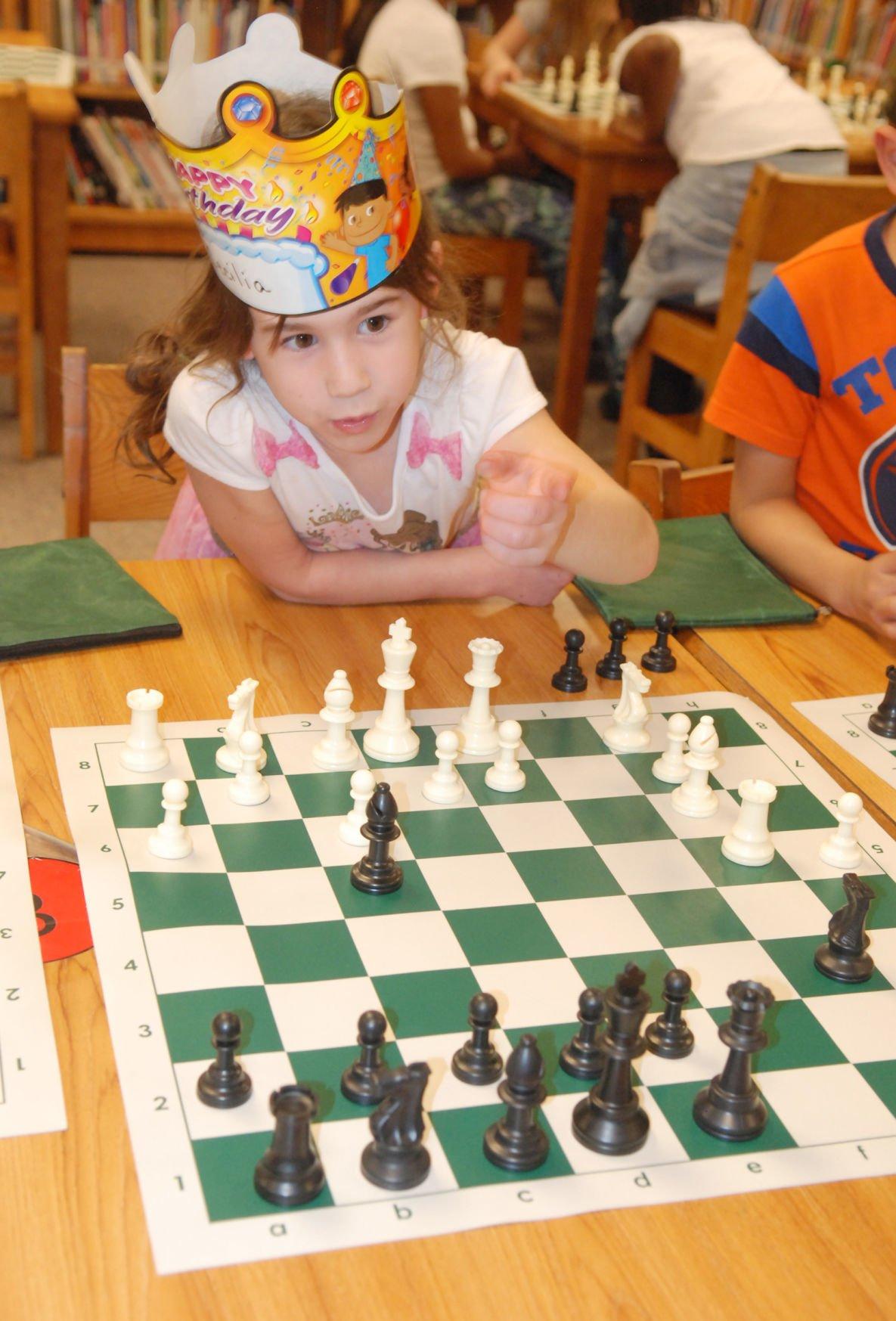 Chess club girl