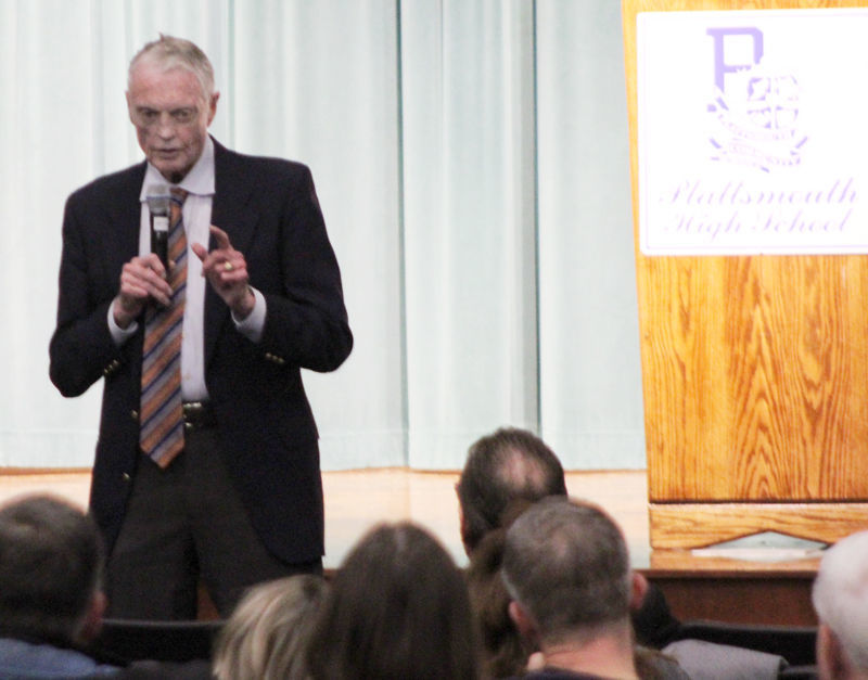 Tom Osborne speech at Plattsmouth