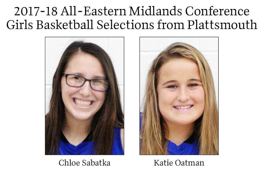 2017-18 All-Eastern Midlands Conference Girls Basketball Selections from Plattsmouth