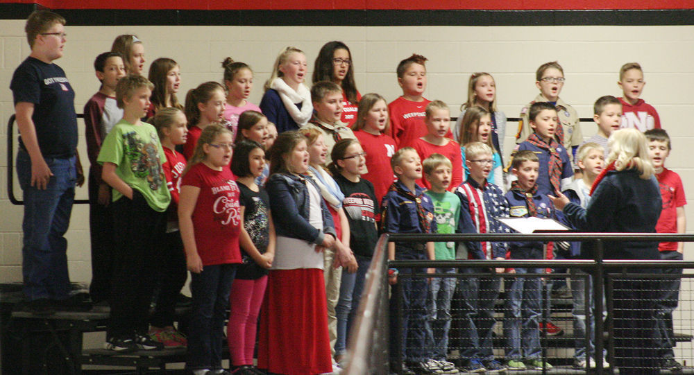 Vivace Choir sings at Veterans Day ceremony