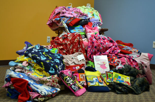 Daycare center partners with Dunklau center to provide pajamas to area children