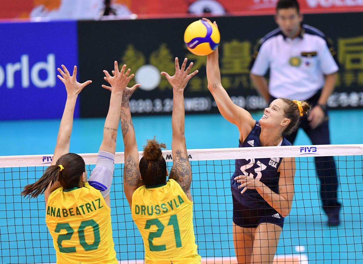 Kelsey Robinson vs. Brazil
