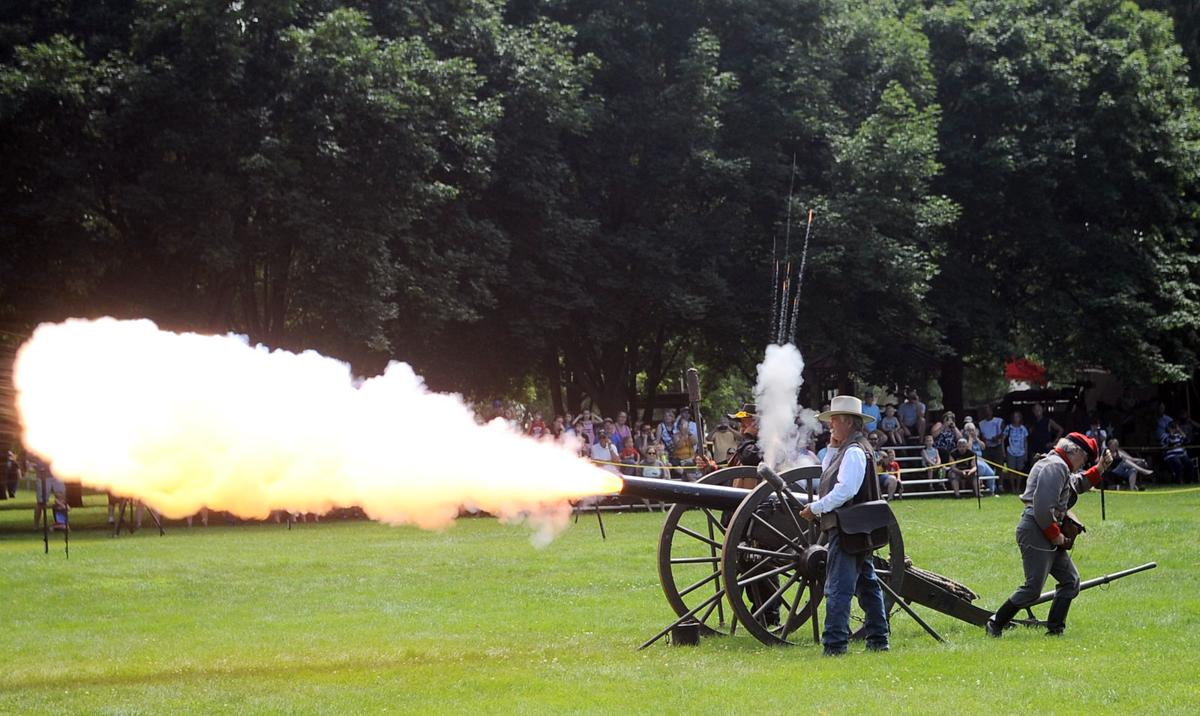 2019 John C. Fremont Days - Civil War artillery demonstration