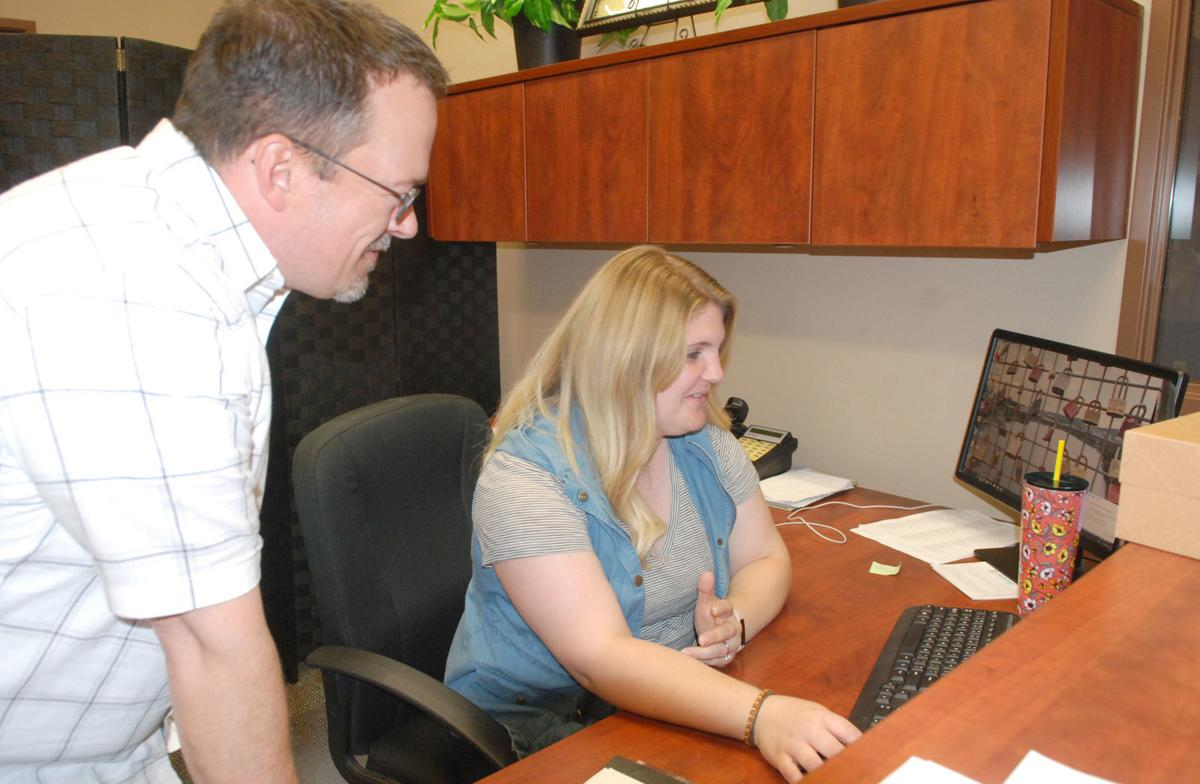 New Nazarene pastor and office manager