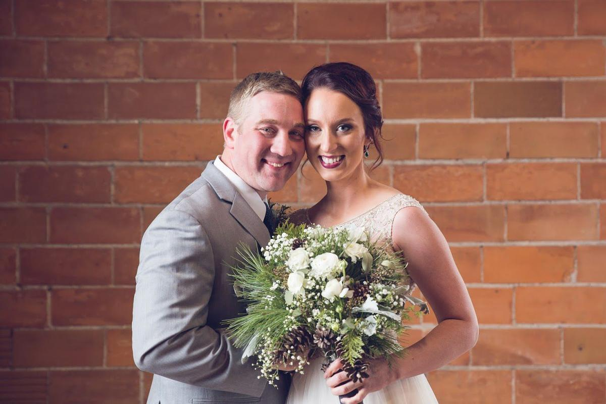 Laura Brown and Chad Longanecker