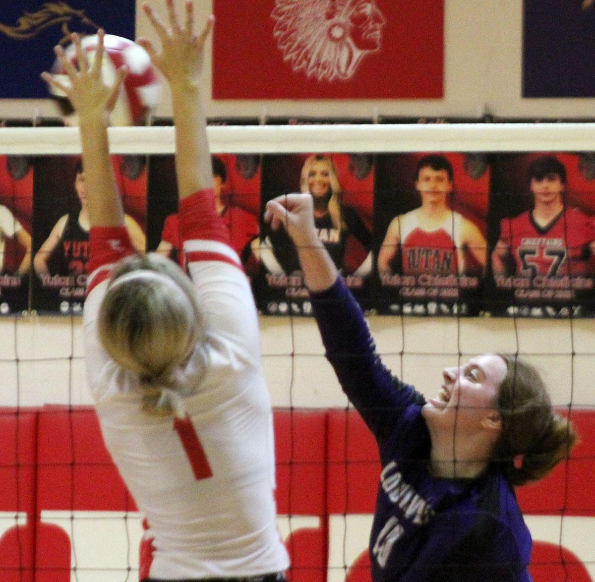 Brooke Smith swings against Yutan