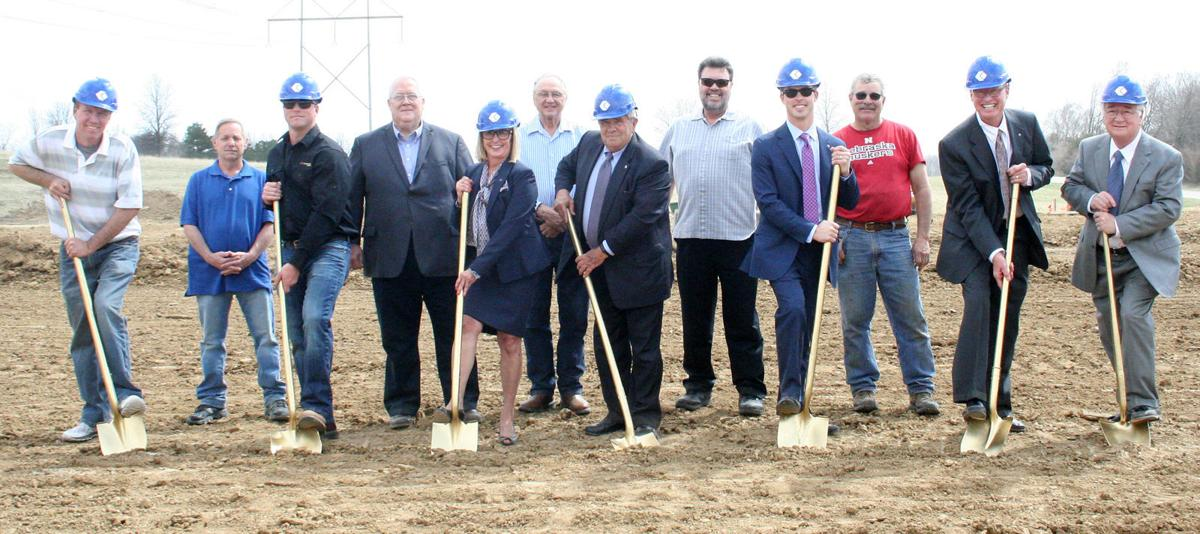 Cornerstone Bank groundbreaking ceremony in Beaver Lake