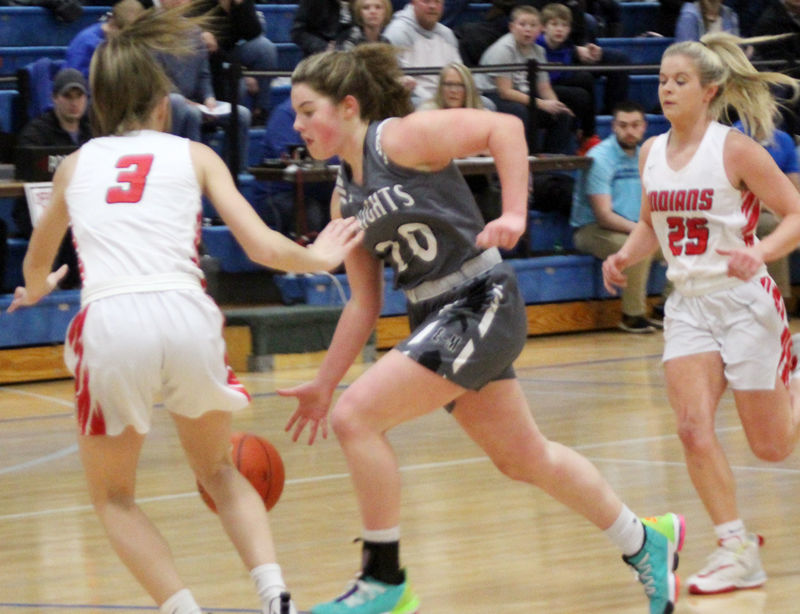 Lexi Bacon against Weeping Water