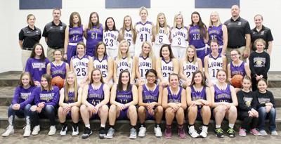 Louisville girls basketball team photo