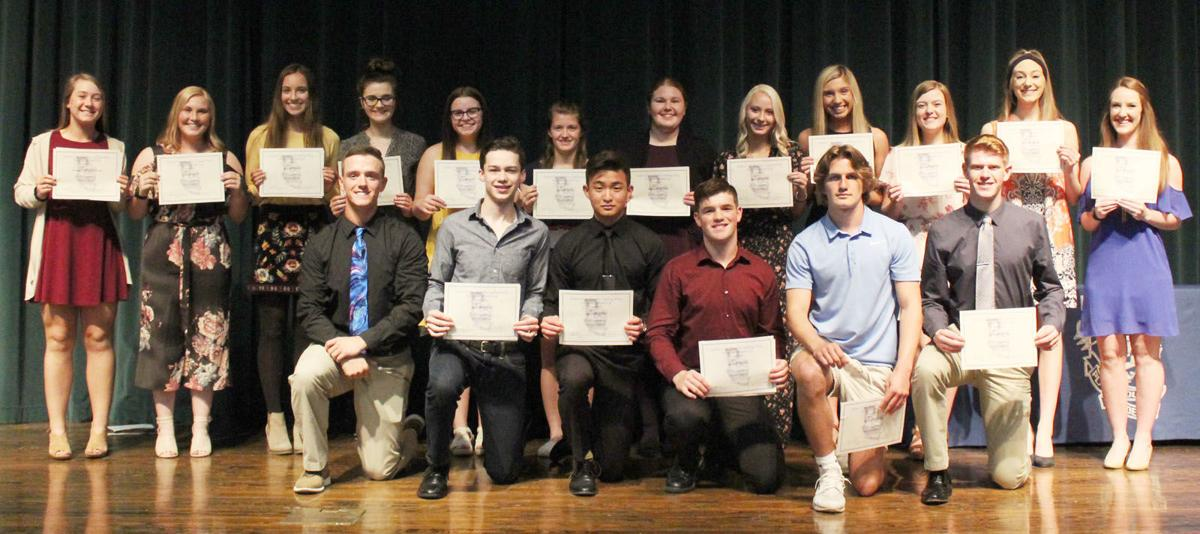 2019 Walling Wiley Memorial Scholarship winners
