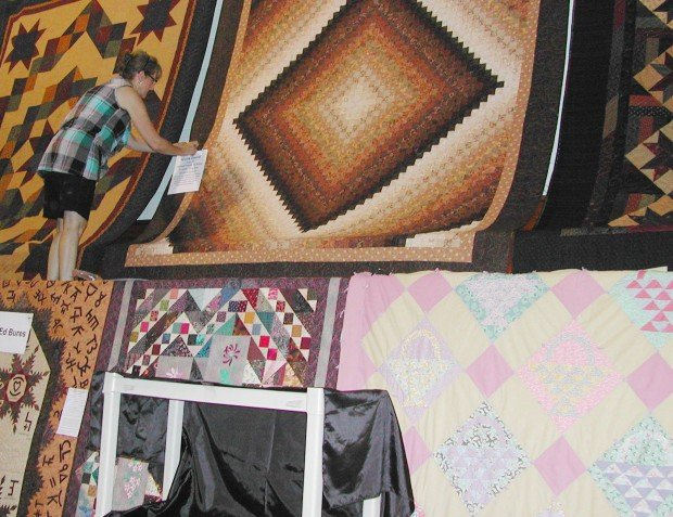 Quilt display one of Dodge festival's big events   Local News
