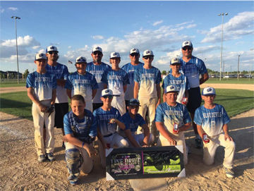 2016 Plattsmouth Blue Devils 12U AA Select Baseball Team