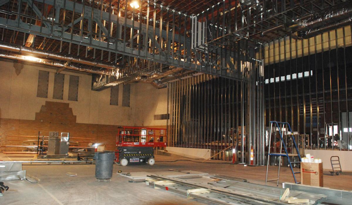 Interior of Fremont City Auditorium