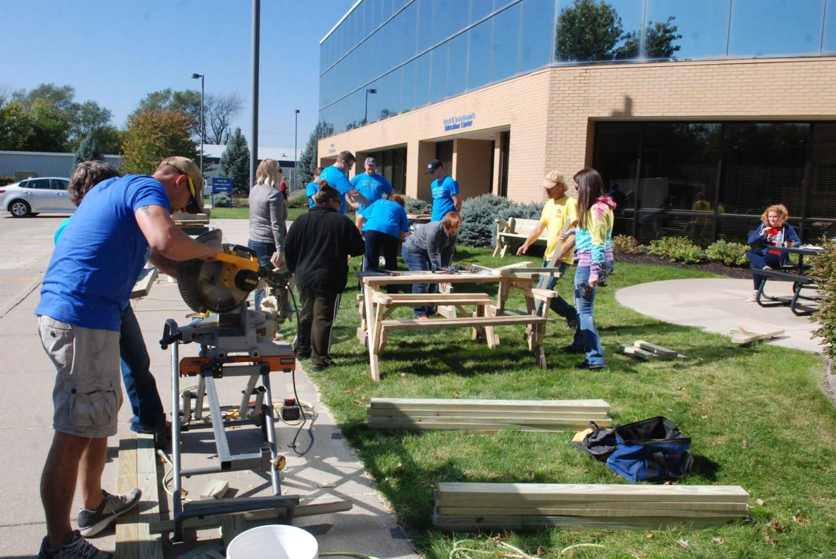 First State Bank builds for Fremont Area Habitat for Humanity